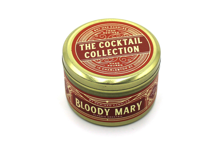Bloody Mary Travel Tin Candles