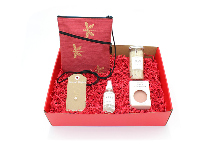 Sally's Spicer's Red Dragonfly Social Box