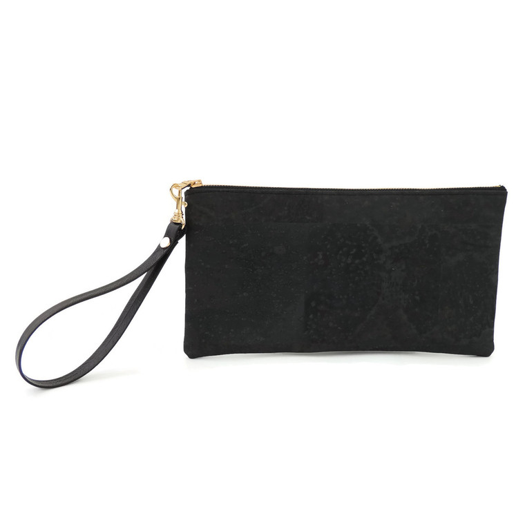 Clutch in Black Cork