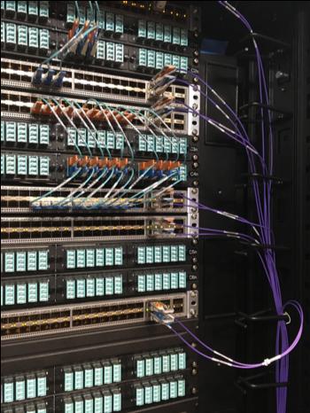 TCS HDA Fiber Patching System