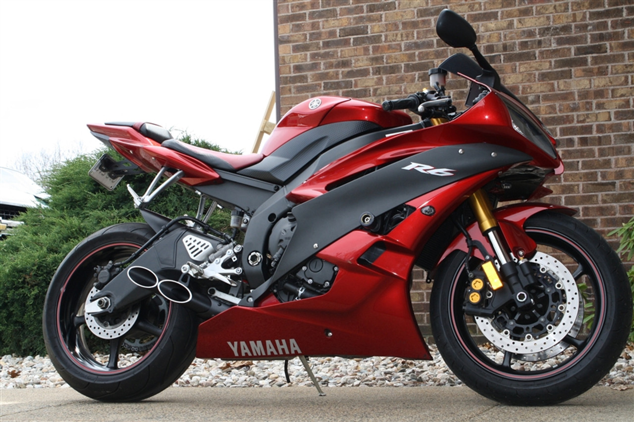 Yamaha R6 Toce Double Down Slip On Exhaust