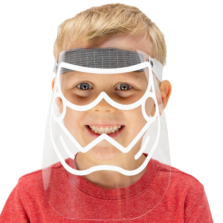 Kids Face Shield - With Vinyl