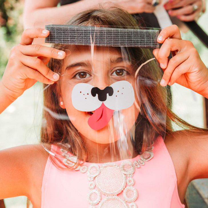 SISU Kids Face Shield - DIY Vinyl