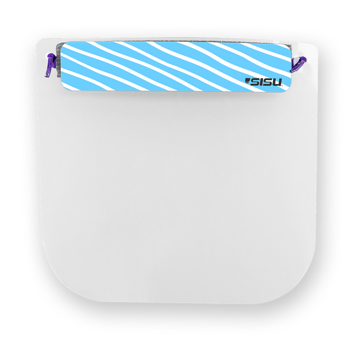 Kids Face Shield with Abstract Sticker