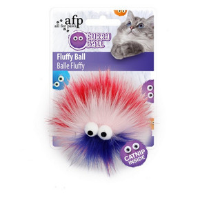 All For Paws Furry Flufferball RedAll For Paws Furry Flufferball Red