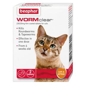 Bea Wormclear Cat 2Tab
