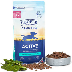 Cooper & Co Active Duck with pheasant and spinachCooper & Co Active Duck with pheasant and spinach