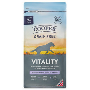 Cooper & Co Dry Dog Food Senior with Trout