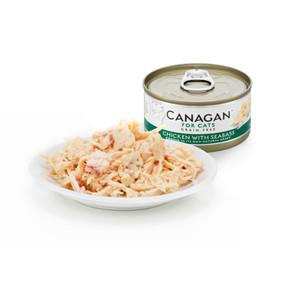 Canagan Cat Chicken & Seabass 75G