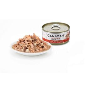 Canagan Cat Tuna & Crab 75G