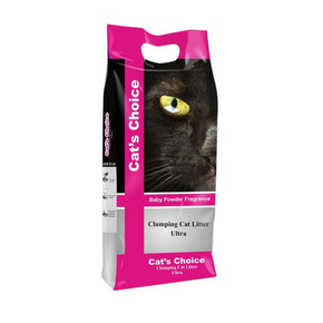 Cats Choice Cat Litter with Baby Powder FragranceCats Choice Cat Litter with Baby Powder Fragrance