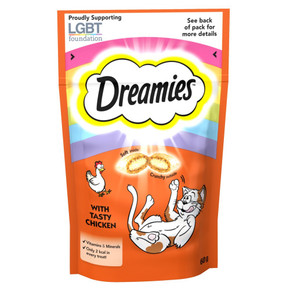 Dreamies Chicken 60G