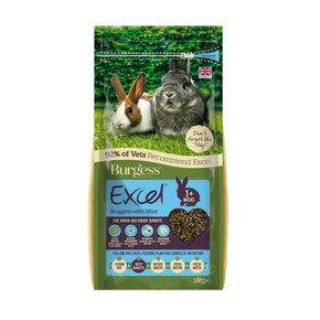 Excel Rabbit Jnr & Dwf 2KgExcel Rabbit Jnr & Dwf 2Kg