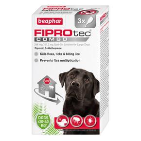 Beaphar Fiprotec Combo 3 Pippet Large Dog