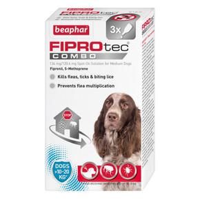 Beaphar Fiprotec Combo 3 Pippet Medium Dog