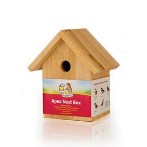 H/Sons Wood Nestbox ApexH/Sons Wood Nestbox Apex