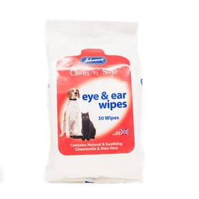 Jvp Eye & Ear Wipes 30Pk