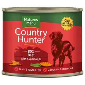 Natures Menu CH Country Hunter Dog Beef 600g