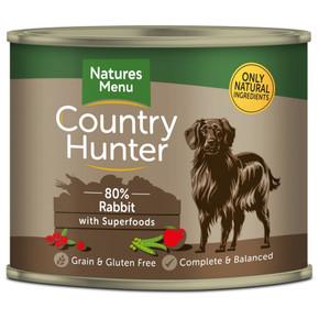Natures Menu CH Country Hunter Dog Rabbit 600g