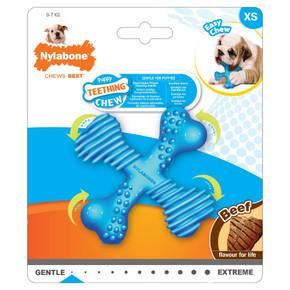 Nylabone Puppy X Bone Small