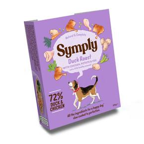 Symply Tray 3 Duck & Potato 395G