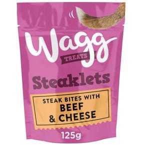 Wagg Steaklets Treats 125G