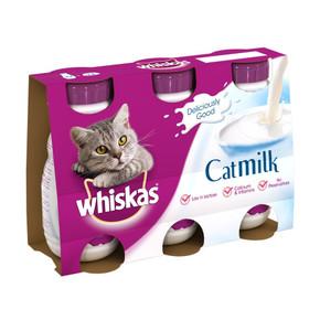Whiskas Milk Plus (3Pk) 200ml