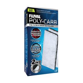 Fluval U2 Poly/Carbon Cartridge (2pcs)