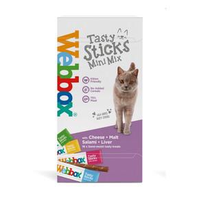 Webbox Cat Stk Mini 16Pack