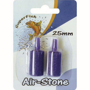SuperFish Airstone Cylindrical Blister (2Pcs)