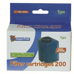 SuperFish Aqua-Flow 200 Easy Click Cartridge (1Pk)