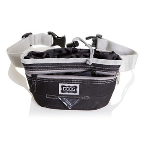 DOOG Treat pouch black Large