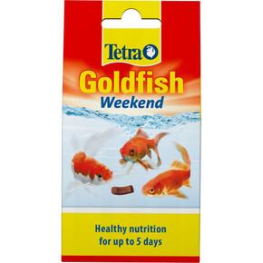 Tetra Goldfish Weekend Holiday Food 10 Sticks