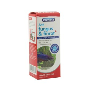 Interpet Treat Anti Fungus & Finrot Plus 100ml