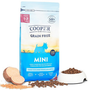 Cooper & Co Mini Turkey with sweet potato and lentils 1.5kg