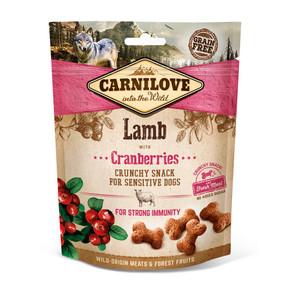 Carnilove Dog Treats Lamb with Cranberry 200g