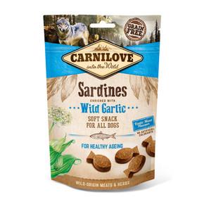 Carnilove Dog Treats Sardine with Garlic 200g