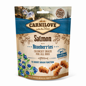 Carnilove Dog Treats Salmon with Blueberries 200g