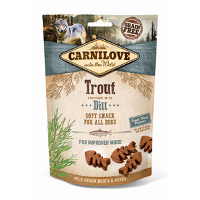 Carnilove Dog Treats Trout with Dill 200g