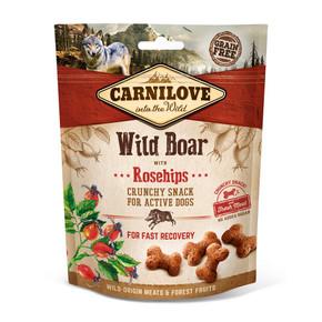 Carnilove Dog Treats Wild Boar with Rosehip 200g