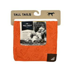 Talltails Orange Towel Sml