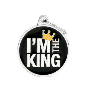 I'm The King ID Tag