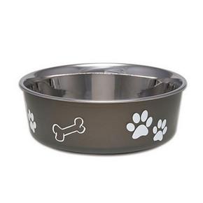 Loving Pets Bella Dog Bowl Espresso