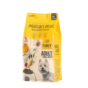 Natures Deli Adult Small Breed Turkey & Rice 2kg
