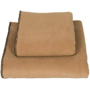 Earthbound Fleece Pet Blanket Camel