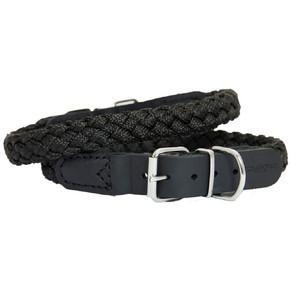 Earthbound Braided Nylon Collar Black