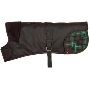 Earthbound Premium Wax Cotton Dog Coat Brown