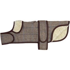 Earthbound Dachshund Tweed Dog Coat Beige
