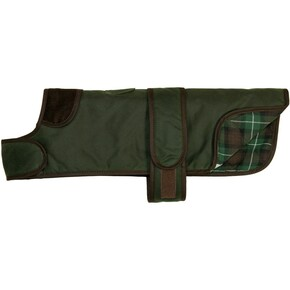Earthbound Dachshund Tweed Dog Coat Green