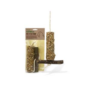 Rosewood Natural Peck N Seed Swing